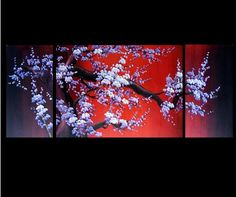 Asian Paintings Feng Shui Artwork Abstract Paintings