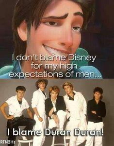 Blame Duran Duran