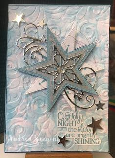 So Many Stars & Bubble Technique Welcome to Valley Inspirations with Andrea to see another Christmas card for the Art With Heart Team's He. Homemade Christmas Cards, Funny Christmas Cards, Christmas Mom, Stampin Up Christmas, Christmas Cards To Make, Christmas 2019, Homemade Cards, Handmade Christmas, Holiday Cards