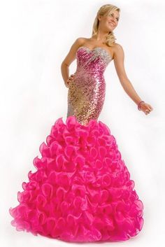When teen mermaids dress up for prom.