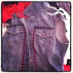 Custom Denim Vest    Contact me for custom work.  www.twitter.com/KoolJaye