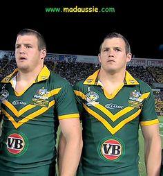 The Morris twins   MadAussie.com Rugby League, Dream Team, League Of Legends, Cheerleading, Superstar, Hot Guys, Tennis, Soccer, Sport