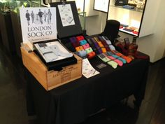 London Sock Company Trunk Show: You Must Desire To Be A Gentleman