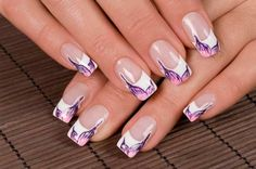 What better way to beautify your nails then by opting for some lovely nail art designs. There are many different types of nail art but the most beautiful is Japanese nail art designs. White Tip Nail Designs, Nail Designs Tumblr, Nail Art Designs 2016, French Manicure Designs, Nail Designs Pictures, Cute Nail Designs, Acrylic Nail Designs, Acrylic Nails, Gel Nails