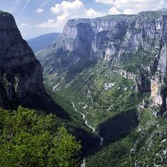 June in the Mediterranean and not a soul to be found? Vikos Gorge, Northern Greece