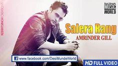 Salera Rang (Full Song) Amrinder Gill | Judaa 2 | New Punjabi Song 2014 HD
