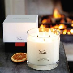 """The White Company candles winter """"best winter candle ever"""" Buy Candles, Large Candles, Fall Candles, Votive Candles, Scented Candles, White Company Candles, The White Company, Christmas Scents, Christmas Ideas"""