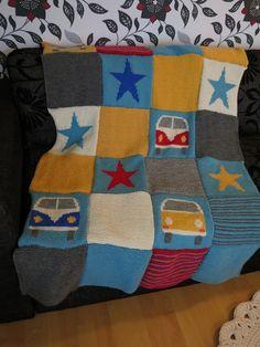 Eva's Splitty and Bay Blanket from slightly sheepish website.  love this.