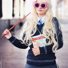 Harry-Potter-luna lovegood2 #cosplay #Harry #Potter #luna#lovegood