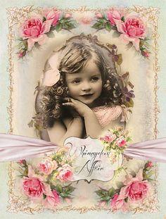 Un WhimsyDust Affair Decoupage Vintage, Vintage Maps, Vintage Labels, Vintage Postcards, Shabby Vintage, Foto Vintage, Vintage Children Photos, Vintage Pictures, Rice Paper Decoupage