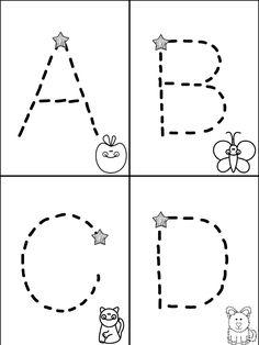 Free Traceable Alphabet MiniBook---Mrs. Christy's Classroom Experiences