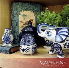 Coleção Madeleine! As estampas que remetem aos azulejos portugueses também estão nas nossas peças de decoração. #colecaomadeleine #produtomarche #objetosdedecoracao #azulejoportugues  #emalta #decoracao #marcheobjetos