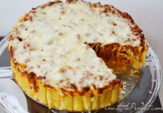 Three Cheese Italian Rigatoni Pie | 11 Unique Pasta Recipes You Never Knew You Wanted by Homemade Recipes at http://homemaderecipes.com/cooking-101/11-unique-pasta-recipes/