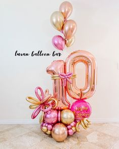 Birthday Balloon Decorations, Balloon Crafts, Balloon Gift, Birthday Balloons, Paper Decorations, Balloon Bouquet Delivery, Balloon Delivery, Balloon Display, Balloon Backdrop