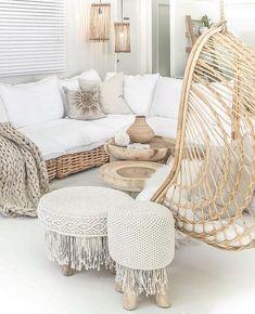 Beach house, living room