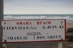Omaha Beach - where the US 29th Division landed