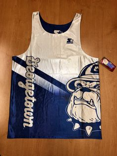 fa5f9806 Vintage 1994 - 1996 Georgetown Hoyas Reversible Starter Jersey Size L  champion dikembe mutombo allen iverson