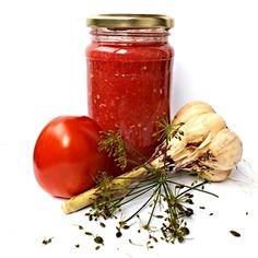 Tomatové čatní My Favorite Food, Favorite Recipes, Pesto Dip, Veggie Tales, Tomato Garden, Pasta, Date Dinner, Hot Sauce Bottles, Chutney