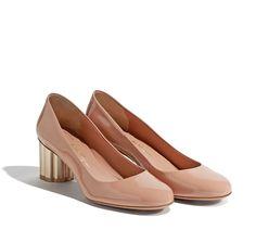 Flower Heel Pump - Shoes - Women - Salvatore Ferragamo