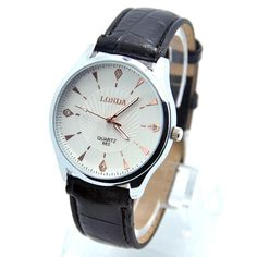 >> Click to Buy << Christmas gift Fashion Brand High Quality Leather Strap Watch Men Male Sports Quartz Analog Wristwatches londa-11 #Affiliate