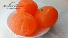 """Оригинальное мыло ручной работы """"Сочный мандарин"""". Как сделать силиконов..."""