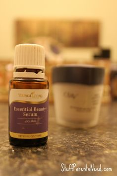 A Day in the Life of an Essential Oil User: Essential Beauty Serum Young Living Essential Oils #yleo