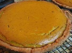 Hubbard Squash Pie -- add 1 tsp lemon extract to recipe