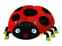 illustration of Ladybug cartoon photo