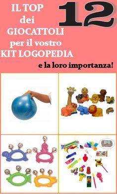 Brucaliffo Giochi & Giocotherapy soluzioni intelligenti per bambini con bisogni speciali: Kit esenziale per la logopedia- il top dei 12 gioc...