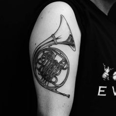 Westona Tattoos, Ethan. French Horn!!!