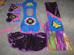 anishinabe powwow fancy shawl   All regalia is made by Jessie Mato-Toyela and enrolled member of the ...