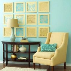 Brighten your walls with these affordable, one-of-a-kind DIY art pieces.