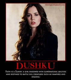Buffy The Vampire Slayer Characters | Nsaney'z Posters II: Eliza Dushku: Faith, Buffy the Vampire Slayer