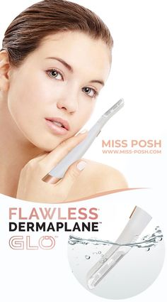 Dermaplane Glo ✨ www.Miss-Posh.com Free Delivery Worldwide 📦🚚 Face Hair Removal, Peach Fuzz, Beauty Corner, Free Delivery, Facial, Makeup, Make Up, Facial Treatment, Facial Care