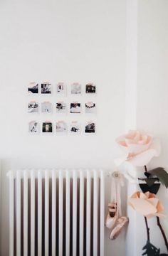 an instagram photo wall gallery