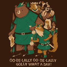 Hey, I found this really awesome Etsy listing at https://www.etsy.com/listing/277132142/oo-de-lally-robin-hood-t-shirt-robin