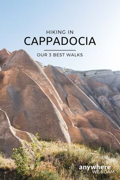 Hiking in Cappadocia – Our three favourite walks Our detailed guides for 3 great walks. Hiking in Cappadocia, Turkey. Turkey Resorts, Turkey Destinations, Turkey Vacation, Turkey Travel, Antalya, Istanbul, Turkey Culture, Hiking Photography, Adventure Photography