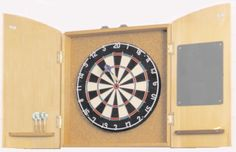 DIY Dart Board Cabinet