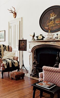 40 of the most beautiful living rooms in Vogue.