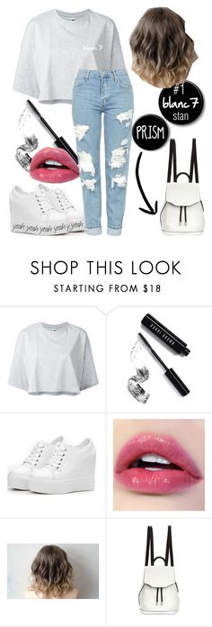 """blanc7"" by kawaiisa ❤ liked on Polyvore featuring Puma, Bobbi Brown Cosmetics, rag & bone and Topshop"