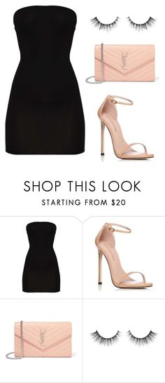 """1 dress, 2 ways - 2/2"" by itsamandarose on Polyvore featuring Stuart Weitzman and Yves Saint Laurent"