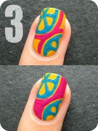 Nailside: Tutorial: Citrus design