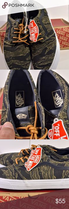 37f124be780443 Van s Authentic Vintage Camo Dark Navy Skate Sz 13 up for sale is a Van s  Authentic