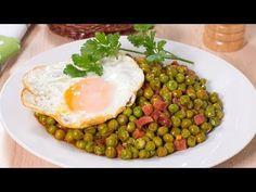 Huevos Fritos, Tortillas, Wraps, Breakfast, Youtube, Recipes, Food, Arrows, Pea Recipes