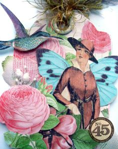 See more amazing ATCs from this great mini by Nichola #graphic45