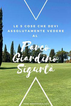 Le cinque cose da vedere in questo meraviglioso giardino immerso nel verde vicino Verona. #parcogiardinosigurtà #sigurtà #park #verona