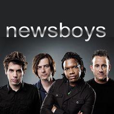 Newsboys...Duncan Phillips (drummer) on the far right.