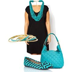 """""""Casual turquoise- plus size"""" by gchamama on Polyvore"""