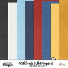 Celebrate Digital Papers By: Little Bit Shoppe