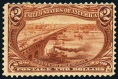 U.S.; General Issues, 1898, $2 Trans-Mississippi, #293. L.h., fresh and Fine, PF (1989) cert. Scott $1,900. Estimate $600-700.  Lot conditio...